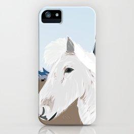 Icelandic Horse, Iceland Mini iPhone Case