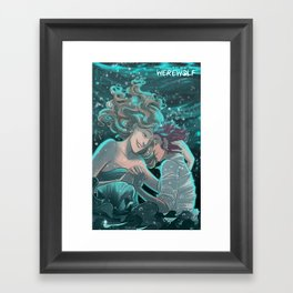 How to be a Werewolf: Chapter 7 Cover Framed Art Print