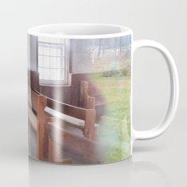 Through the Church Window Coffee Mug