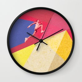 human dynamic #5 Wall Clock