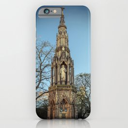 Martyrs Memorial at Oxford University England iPhone Case