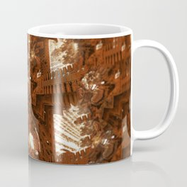 Cathedral shouting person fractal digital illustration Coffee Mug