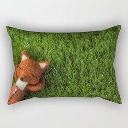 """Nos Contemplamos"" Rectangular Pillow"