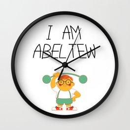 Abel Tew Year 01 Wall Clock