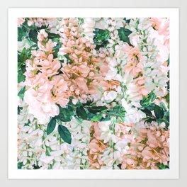 1992 Floral Art Print