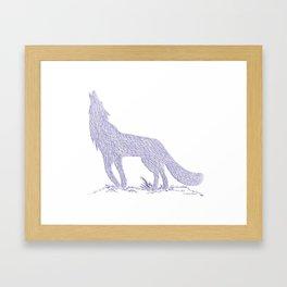 Coyote CREYES Framed Art Print