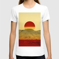 outdoor T-shirts featuring Warm abstraction by Stoian Hitrov - Sto