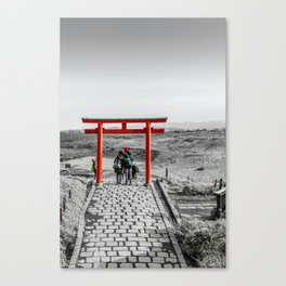 Lovers in Japan Canvas Print