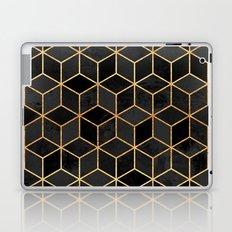 Black Cubes Laptop & iPad Skin