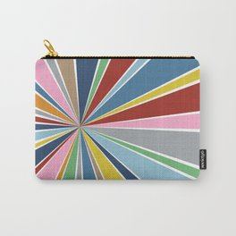 Star Burst Color Carry-All Pouch