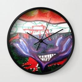 No Feelings Wall Clock