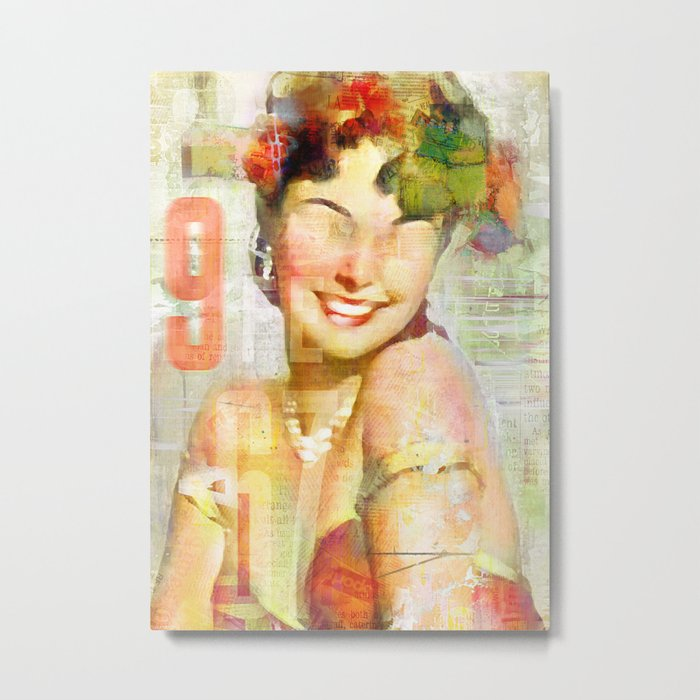 The girl of the 9th floor Metal Print