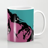 notorious big Mugs featuring Notorious by Vee Ladwa