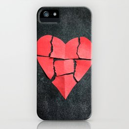 I'm All Torn Up iPhone Case