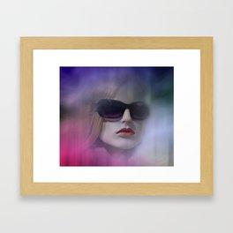 in the shop window -102- Framed Art Print