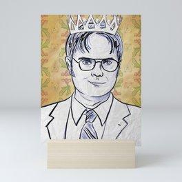 Dwight K. Schrute, King Of Beets Mini Art Print