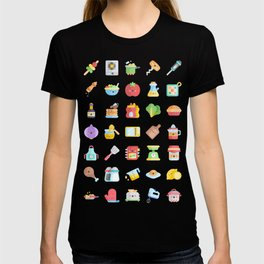 CUTE COOKING PATTERN T-shirt