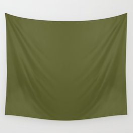 Dark Terrarium Moss Green Fashion Color Trends Spring Summer 2019 Wall Tapestry