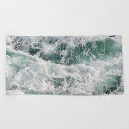 Sea Waves   Aerial Photography   Water   Ocean Beach Towel