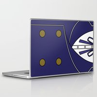 persona Laptop & iPad Skins featuring Persona 4 Naoto Shirogane Jacket by Bunny Frost
