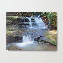 Martin's Creek Cascades Metal Print