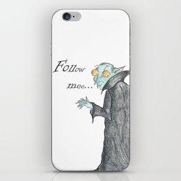 Follow Me, says the Vampire iPhone Skin