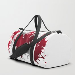 Canadian Splatter Duffle Bag