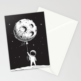 Fly Moon Stationery Cards
