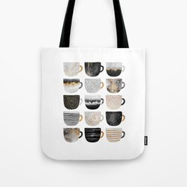 Pretty Coffe Cups 3 - White Tote Bag