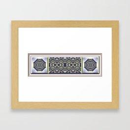 Peridot and Amethyst Framed Art Print