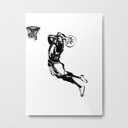 Zen basketball 1 Metal Print