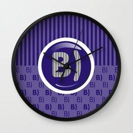 Indigo Writer's Mood Wall Clock
