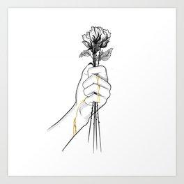 Precious love Art Print