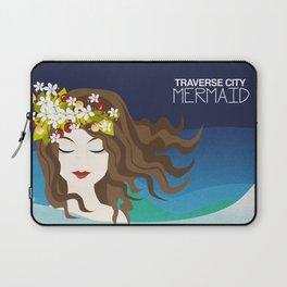 traverse city mermaid Laptop Sleeve