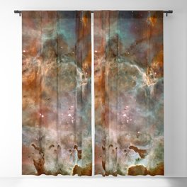 Star Birth and Death Hubble Telescope Photo Blackout Curtain