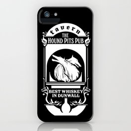 Hound Pits Pub T-Shirt iPhone Case