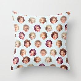 Betty Forevs Throw Pillow