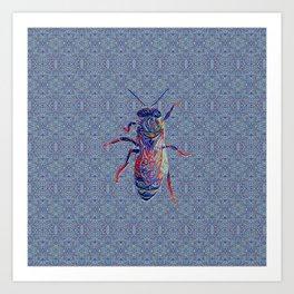 Worker Honey Bee 02 Art Print