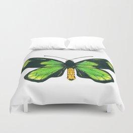 Queen Victoria's birdwing butterfly Duvet Cover