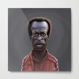 Celebrity Sunday ~ Miles Dewey Davis Metal Print