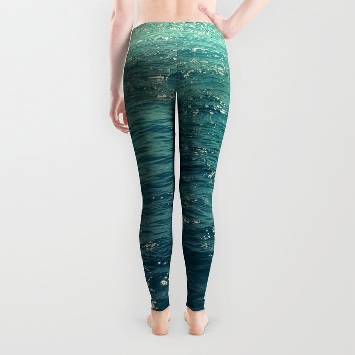 Sea is Always in your Mind Leggings