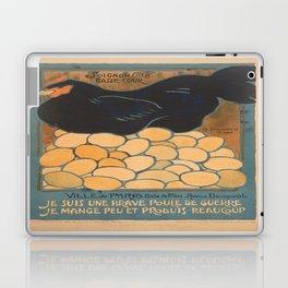 Vintage poster - I am a Fine War Hen Laptop & iPad Skin
