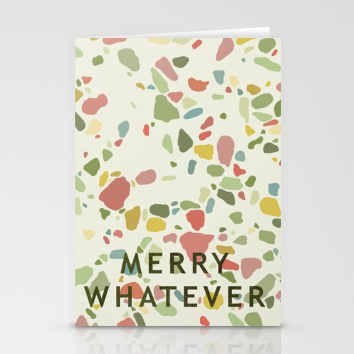 Merry whatever Stationery Cards