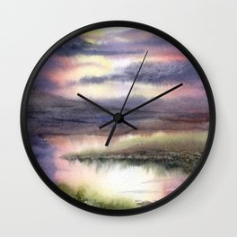 Intense Sky Wall Clock
