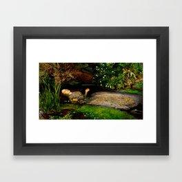 "John Everett Millais ""Ophelia"" Framed Art Print"