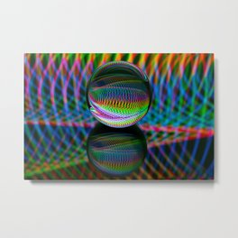 All The Colours Metal Print