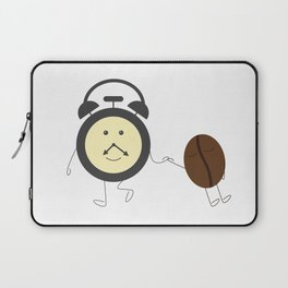 Wake up, coffee! Laptop Sleeve