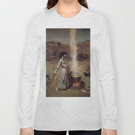 The Magic Circle, John William Waterhouse Long Sleeve T-shirt