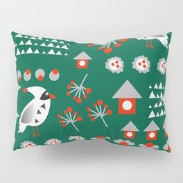 Winter cardinals Pillow Sham