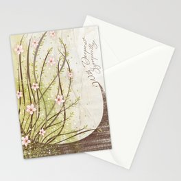 Weeping Cherry Tree Sympathy Card Stationery Cards